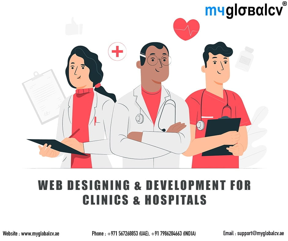 Web Designer & Developer for Hospitals Abu Dhabi UAE