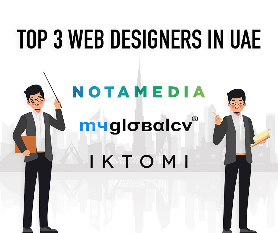 List of Best 3 web designing companies in Dubai UAE
