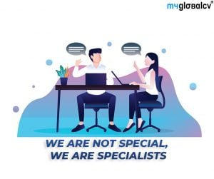 We are specialists, not generalists